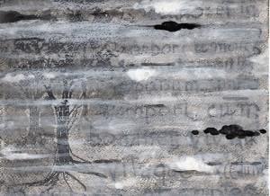 Copiae.l., Arboraria, inchiostro, tempera e gesso su cartone, 2015