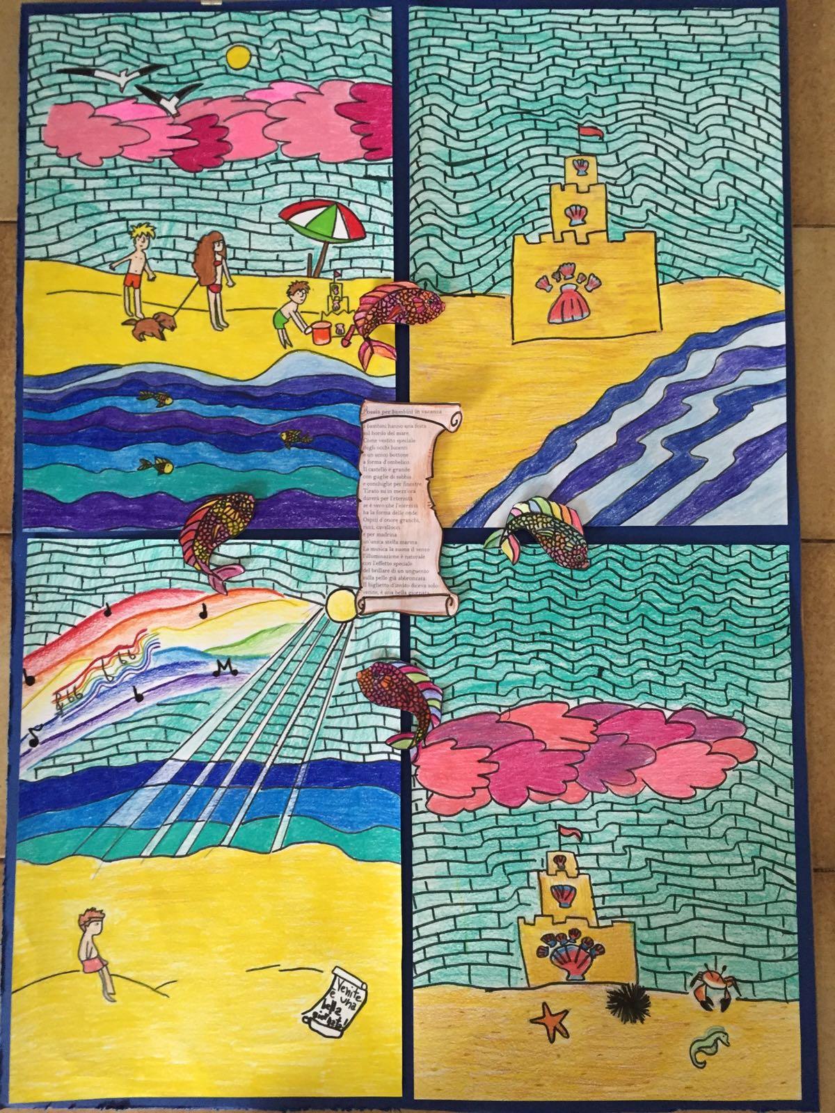 poesia per bambini in vacanza