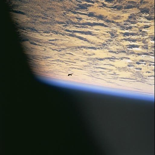 earth with debris