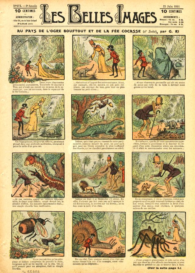 """""""Les Belles Images"""" 15 Giugno 1911"""