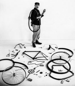Jacques Tati as seen by Robert Doisneau