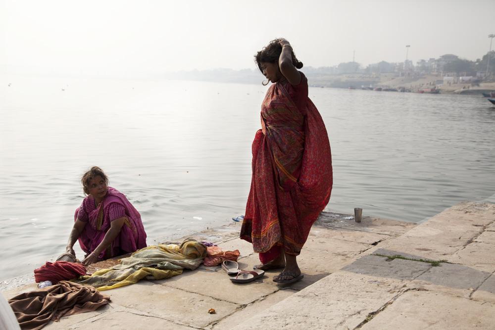 Chi dice che Varanasi è sporca non ha capito