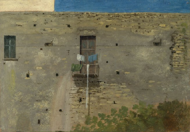 Thomas Jones - A wall in Naples