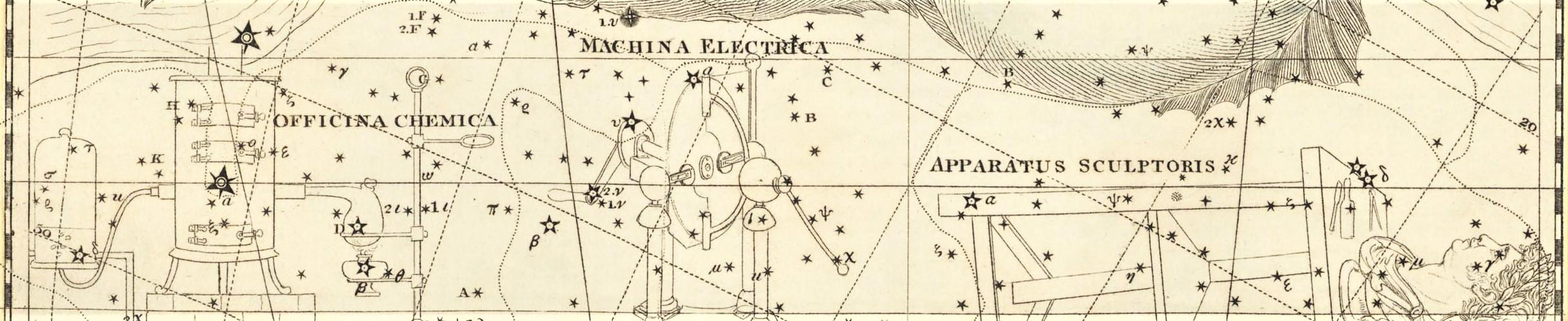 alexandre Jamesion atlas coelestis