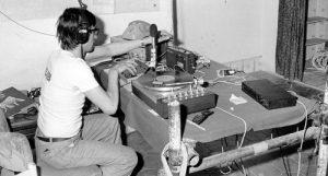 foto – archivio storico Radio Alice