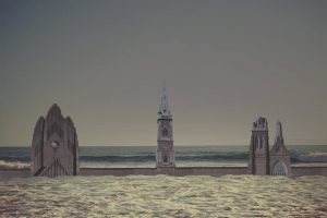 """""""Tre chiese"""", elaborazione digitale di F. D'Isa, tratta dal libro"""