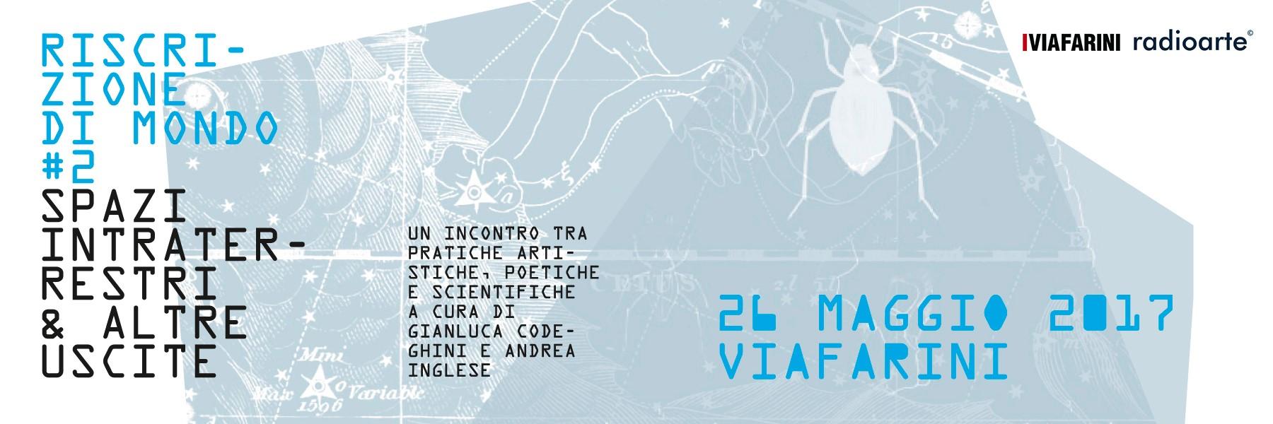 Riscrizione di mondo #2 – programma & istruzioni per l'uso (26.5 Milano)
