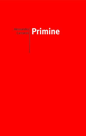 da Primine / Alessandra Carnaroli