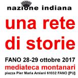 una rete di storie festa di Nazione Indiana 2017 a Fano 28-29 ottobre mediateca Montanari